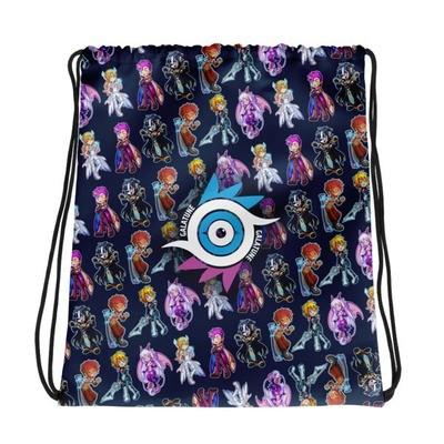 Chibi Drawstring Bag