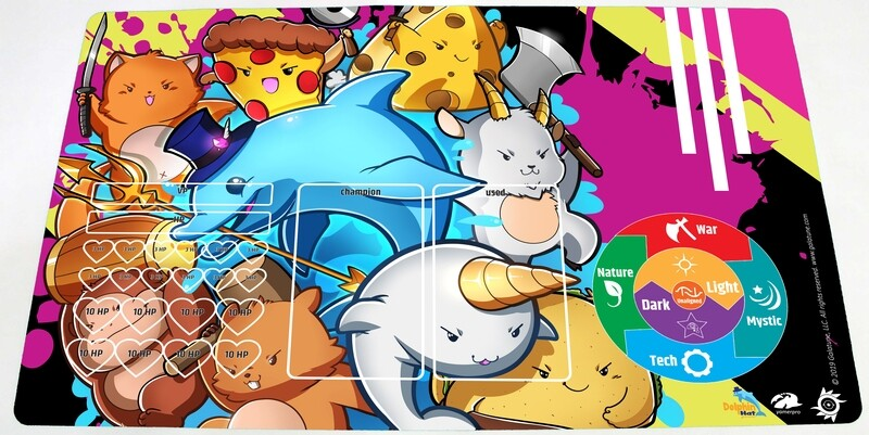 Dolphin Hat Galatune Game Mat *LIMITED