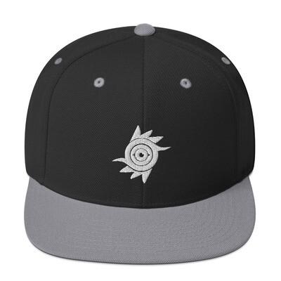 Azure Eye Snapback Hat -BW