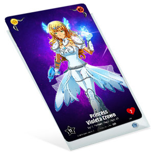 50 Card Sleeves 70 x 120mm clear