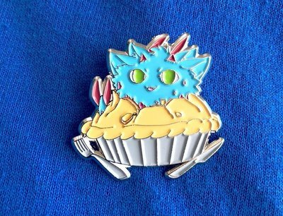 Mufen Pie Promo Pin *GONE
