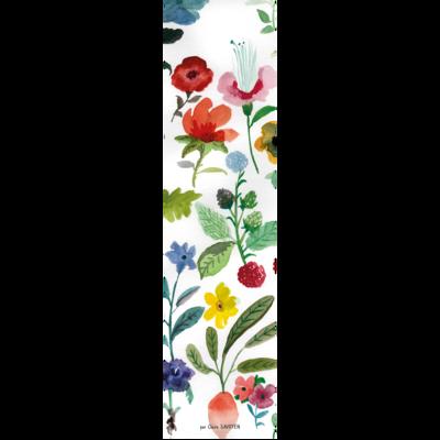Marque-page fleuri