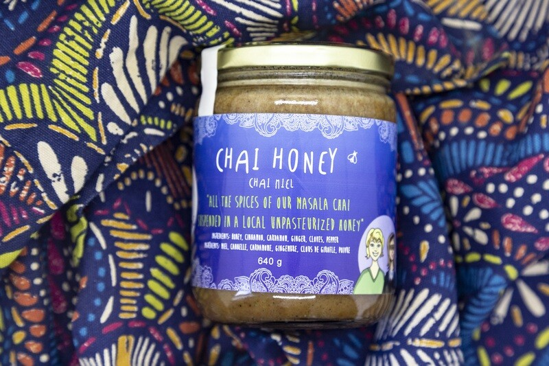 Large Chai Honey