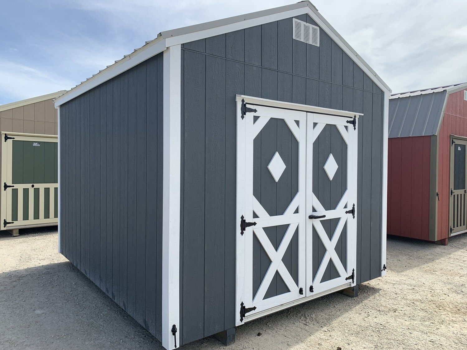 10 x 12 Utility Shed (COMING SOON)