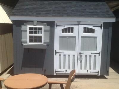 10 X 12 Garden Cottage (SWANSEA)