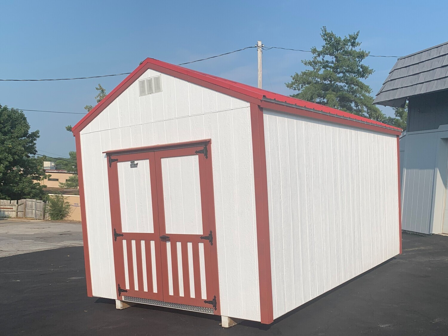 10X16 Utility Shed - REPO (COLUMBIA)