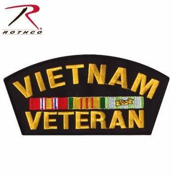 "6"" VIETNAM VETERAN MILITARY PATCH"