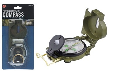 LENSATIC COMPASS OD GREEN