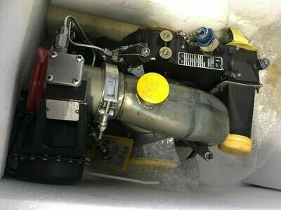 MILITARY C5 AIRCRAFT AIR TURBINE MOTOR DRIVE UNIT P/N 386588-1-15