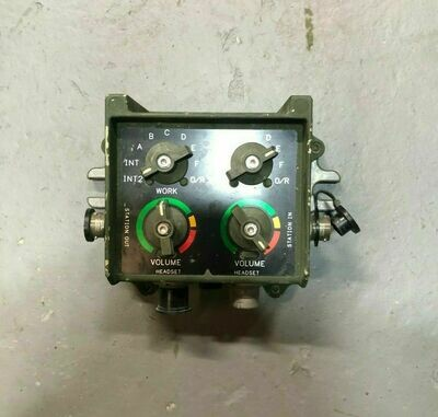 Humvee VIC-3 Intercom Control Box NSN#5830-01-469-6120