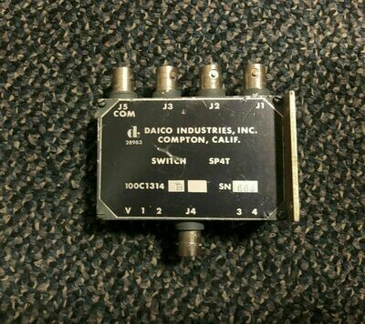 DAICO INDUSTRIES INC NON TRANSFER SWITCH RADIO FREQUENCY TRANSMISSIONS
