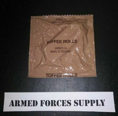 MILITARY MRE TOFFEE ROLL
