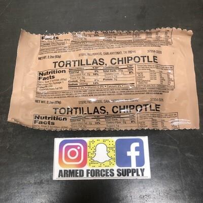 MILITARY MRE CHIPOTLE TORTILLAS