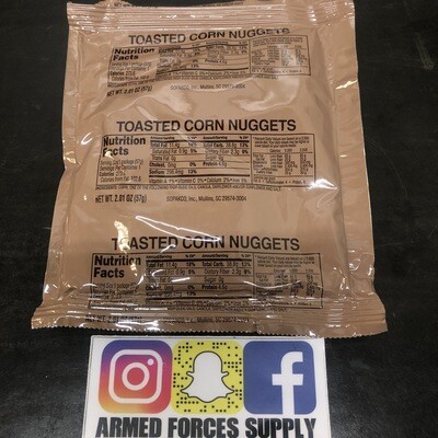 MILITARY MRE TOASTED CORN NUGGETS