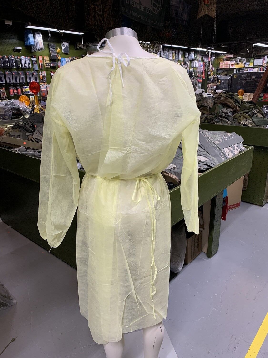 Medical PPE Isolation Gown (one each)