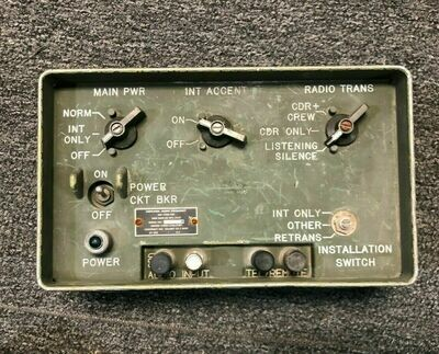 HMMWV AUDIO FREQUENCY AMPLIFIER GENERAL DYNAMICS AM-1780/VRC