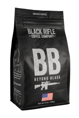 BEYOND BLACK 12 OZ GROUND COFFEE