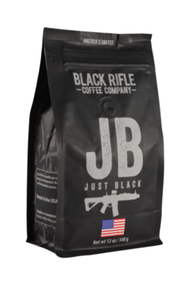 JUST BLACK 12 OZ GROUND COFFEE
