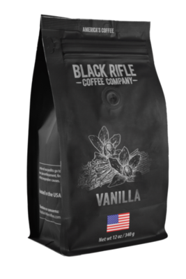 VANILLA 12 OZ GROUND COFFEE