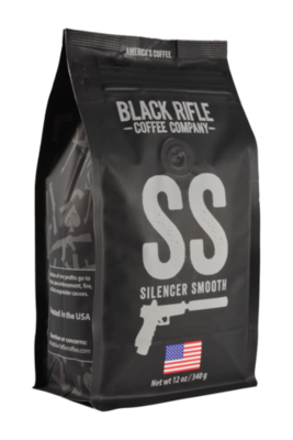 SILENCER SMOOTH 12 OZ GROUND COFFEE