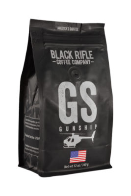 GUNSHIP 12 OZ GROUND COFFEE