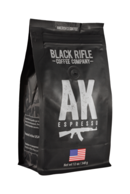 AK ESPRESSO 12 OZ GROUND COFFEE
