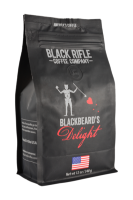 BLACKBEARDS DELIGHT 12 OZ GROUND COFFEE