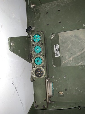 Humvee Radio Rack With MT-6352/VRC SINCGARS Mounting Base