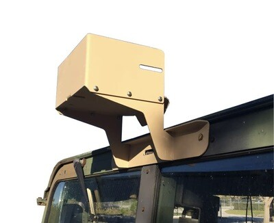 Humvee Blue Force Tracker GPS Antenna Window Mount