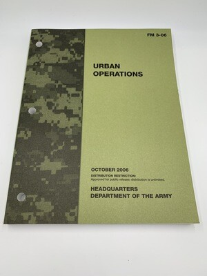 Military Urban Operations Genuine Issue