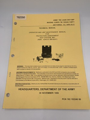 M41 Technical Manual NSN#4240-01-365-8241