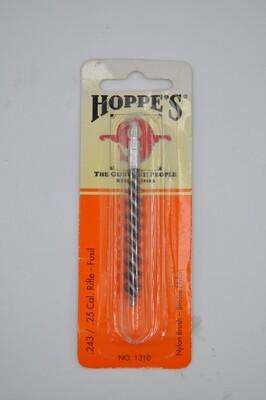 HOPPE'S .243/.25 CAL. RIFLE PHOSHOR BRONZE BRUSH