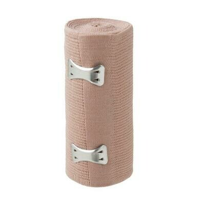 ROLLED ACE BANDAGE W/ CLIPS