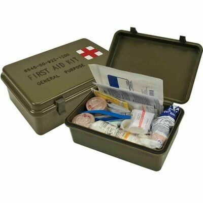 Genuine Issue Military General Purpose First Aid Kit NSN# 6445-00-922-1200