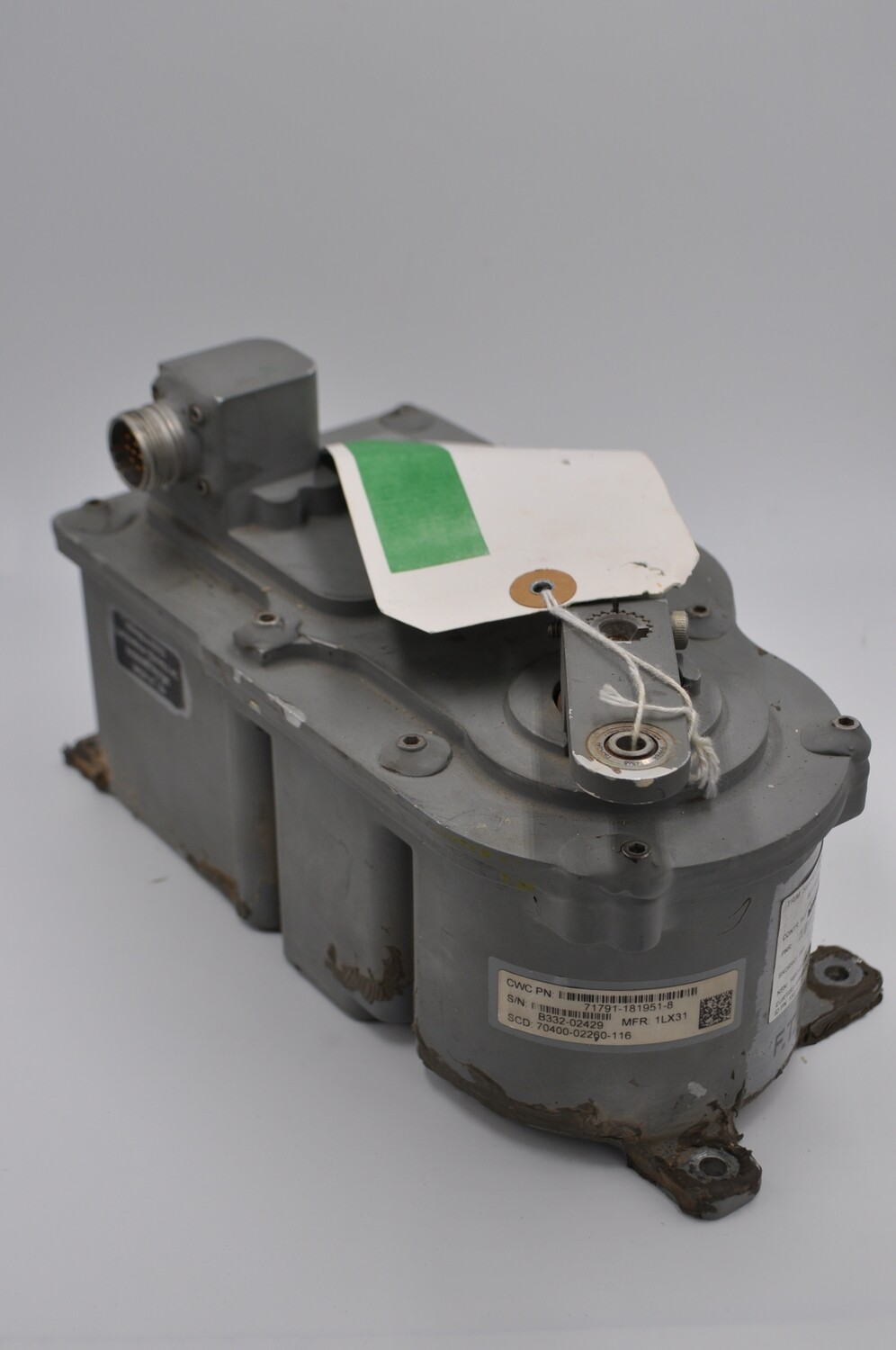 SIKORSKY UH-60 ROLL TRIM SERVOS