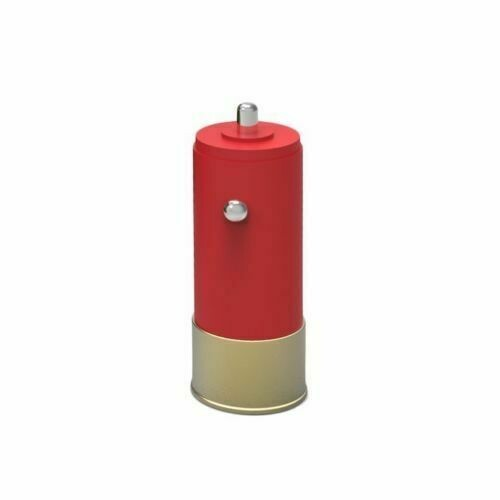 SHOTGUN SHELL USB CAR CHARGER ADAPTER