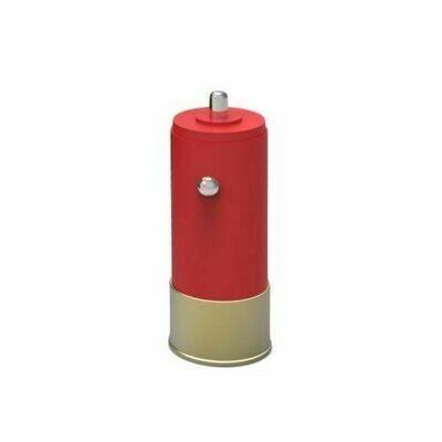 SHOTGUN SHELL USB CAR CHARGER ADAPTER
