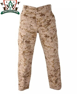 USMC DESERT DIGITAL MARPAT UNIFORM PANTS