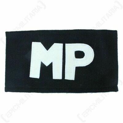 ARMY MILITARY POLICE ARMBAND MP ARM BAND OD & BLACK NEW