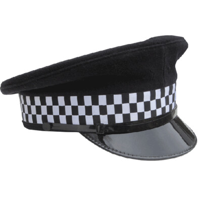 BRITISH POLICE VISOR CAP