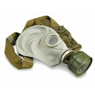 ADULT GP5 RUSSIAN GAS MASK GREY