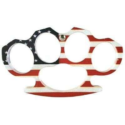 AMERICAN FLAG BRASS KNUCKLES