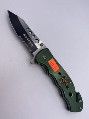 GREEN RANGER STAINLESS STEEL KNIFE