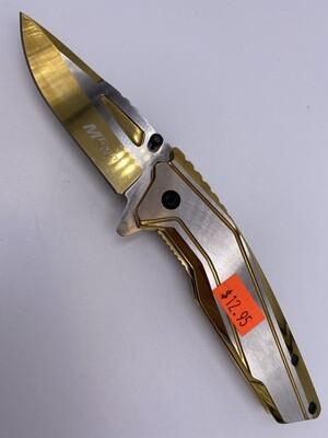 GOLD MTECH USA STEEL KNIFE
