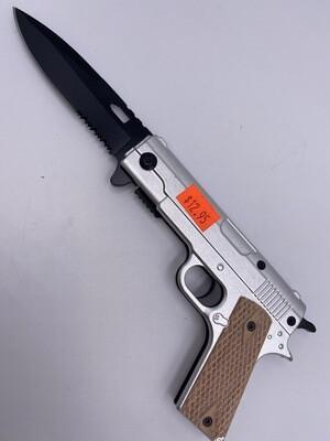 COLT 1911 PISTOL STEEL KNIFE