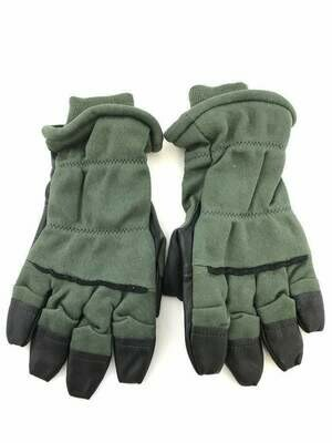 COLD WEATHER GLOVES INTERMEDIATE FLYER GREEN/BLACK