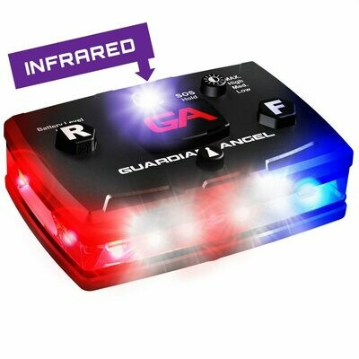 GUARDIAN ANGEL RED/BLUE/INFARED LAW ENFORCEMENT SAFETY LIGHT