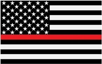 RED LIVES MATTER FLAG