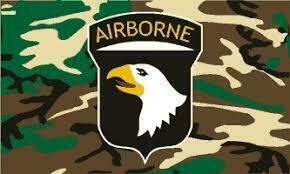 101ST AIRBORNE CAMO FLAG