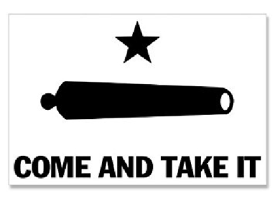 COME AND TAKE IT FLAG ORIGINAL